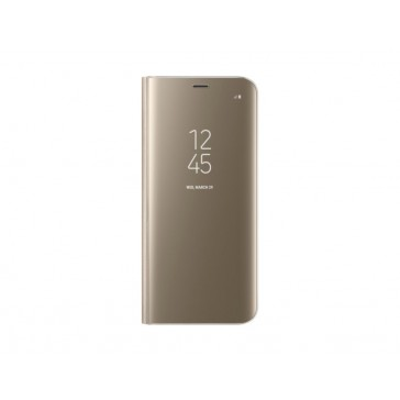 SAMSUNG CLEAR VIEW POUR S8 GOLD