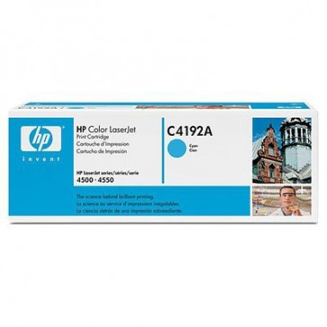 HP C4192A Laser cartridge 6000pages Cyan cartouche toner et laser